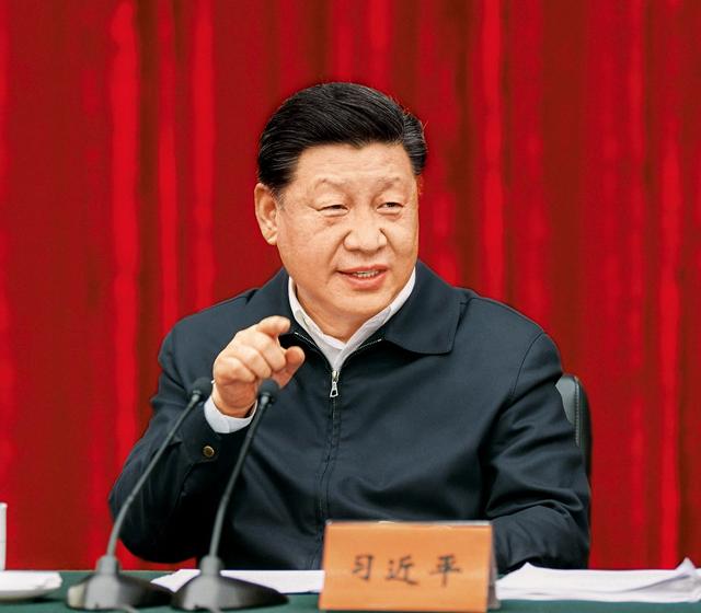 """习近平:在解决""""两不愁三保障""""突出问题座"""